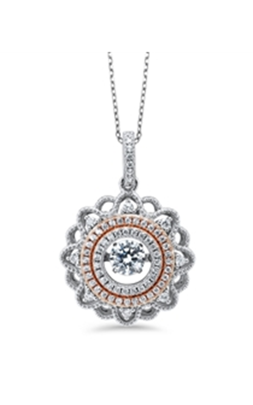 A Little Pizzazz Necklace PD10052-SS product image