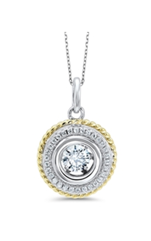 A Little Pizzazz Necklace PD10053-SS product image