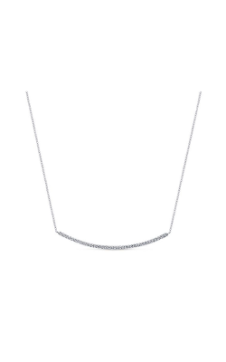 Gabriel & Co.: Lady's  14 Karat White Gold Indulgence Necklace 165-609 product image