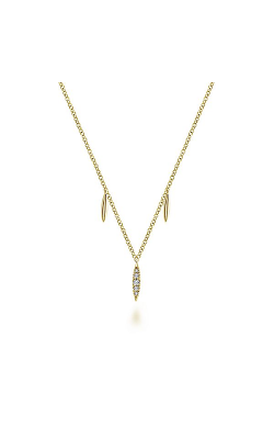Gabriel & Co.: Lady's 14 Karat Yellow Gold Trends Necklace 165-636 product image