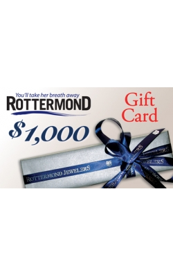 Rottermond $1000 Gift Card product image