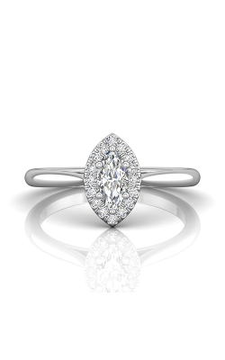 Martin Flyer Complete Engagement Ring DERSH01XXSMQRQ-C-7.0X3.5MQ product image