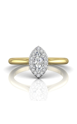 Martin Flyer Complete Engagement Ring DERSH01XXSMQRTTYQ-C-7.0X3.5MQ product image