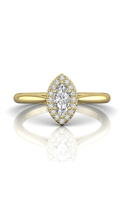 Martin Flyer Complete Engagement Ring DERSH01XXSMQRYQ-C-7.0X3.5MQ product image