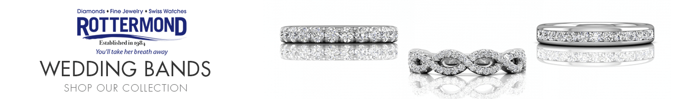 Wedding Bands at Rottermond Jewelers
